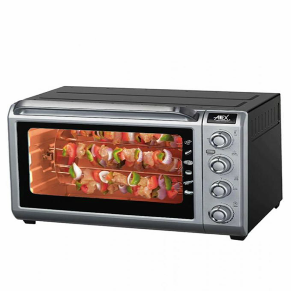 Anex Deluxe Oven Toaster AG-3071 Black and Silver